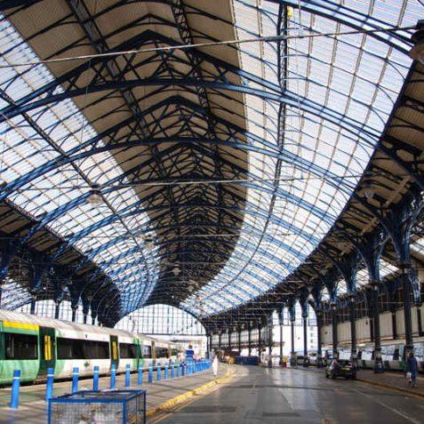 Brighton Station: opened 1840