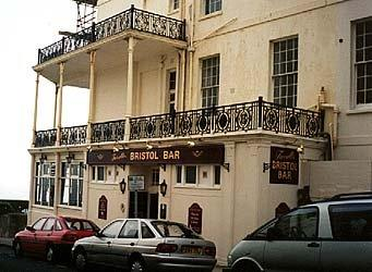 Side view of The Bristol Hotel in 2000 | Photo by Avril Knight