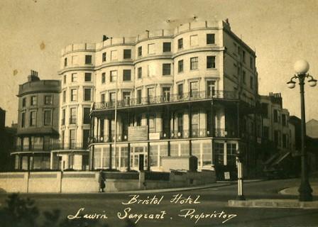 The Bristol Hotel c1938 | Tim Sargeant