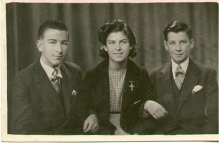 Patrick, Bridie and Bertie | From the private collection of Karen Schell