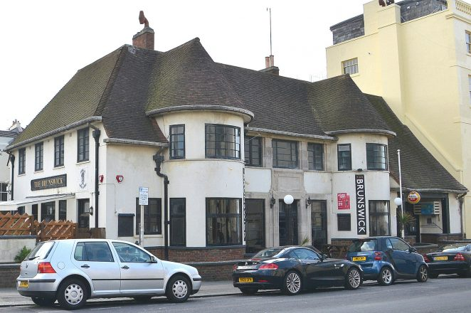 Brunswick Inn, Holland Road, Hove: click on image to open large version | ©Tony Mould: all images copyrighted