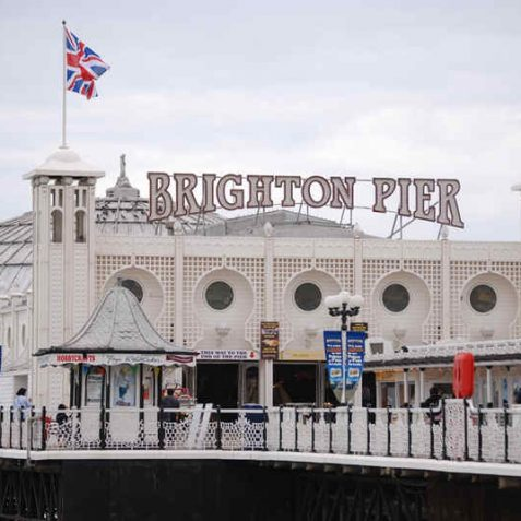 Brighton Pier, formerly known as Palace Pier | Photo by Tony Mould