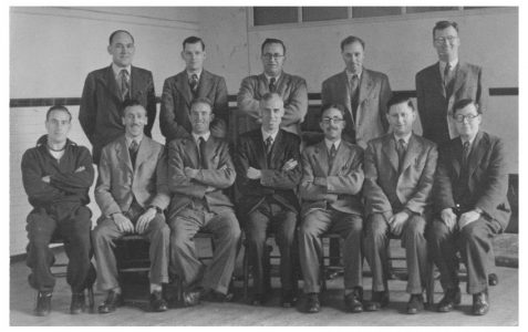 Masters group photograph c1950s