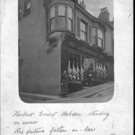 J Burberry's shop in Carlton Hill, Brighton (1905) | From the private collection of Alan Hobden