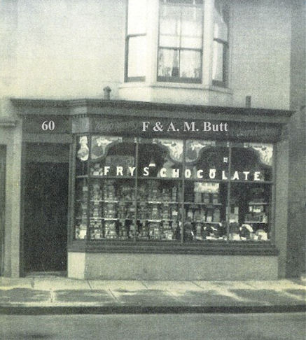 F & A. M. Butt, 60 Shirley Street, Hove | From the private collection of J. Labossiere