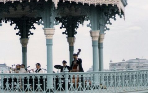 The 'Birdcage' bandstand c1980