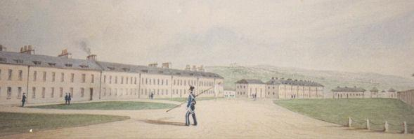 Preston Barracks 1850 | From the private collection of Roy Grant