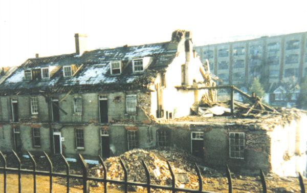 The demolition of the Regency buildings | From the private collection of Roy Grant