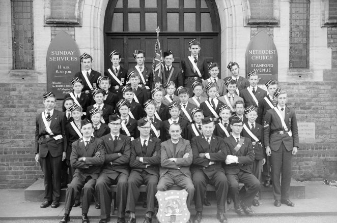 16th Boys Brigade Battalion | Photograph from the private archives of Leslie Whitcomb