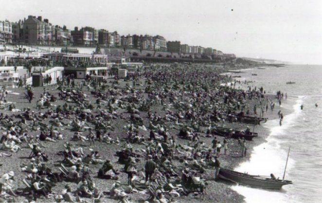 Brighton beach | Photo by Bert Clayton