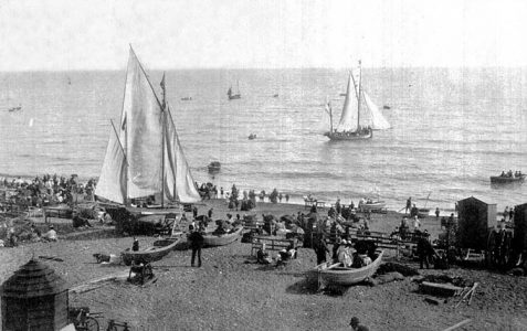 Photo of Brighton Beach, circa 1910