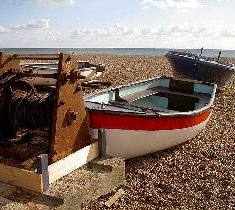 Beach boats | Julia Powell