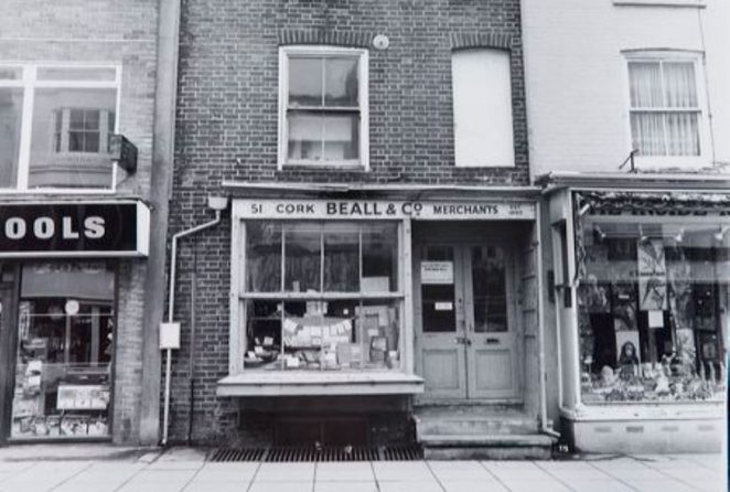 Beall & Co in Gardner Street   Image reproduced with kind permission of The Regency Society and The James Gray Collection