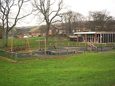 Photograph of BECCA play park, Bevendean | Photo by Sam Carroll