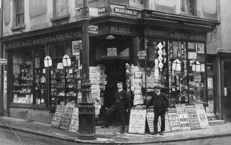 Webb & Co photographed c1910