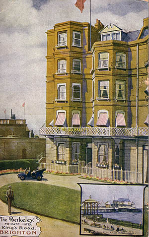 The Berkeley, Private Hotel, King's Road   From the private collection of Trevor Chepstow