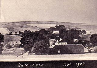 Bevendean, October 1906 | Image reproduced with permission from Brighton History Centre