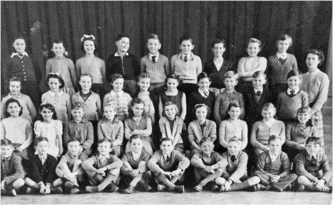 Miss Gunn's class c1957 | From the private collection of Brian Howard