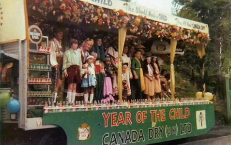 Carnival float 1979