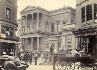 Brighton Town Hall c1896 | Reproduced with permission from Brighton Museum and Art Gallery
