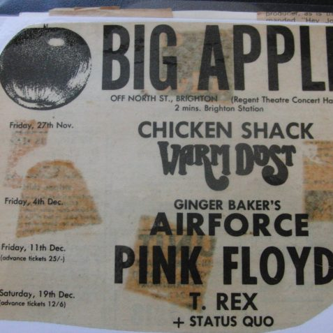 Big Apple bill poster | From the private collection of Howard Wade