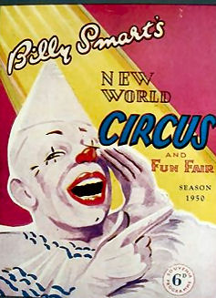 Billy Smart's circus poster | From the private collection of Jennifer Drury