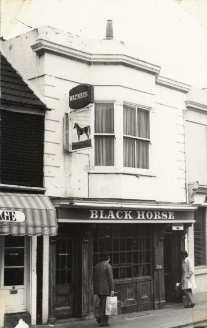 Photos: then and now | Image reproduced with permission from Brighton History Centre