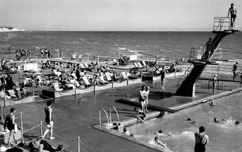 Black Rock swimming pool