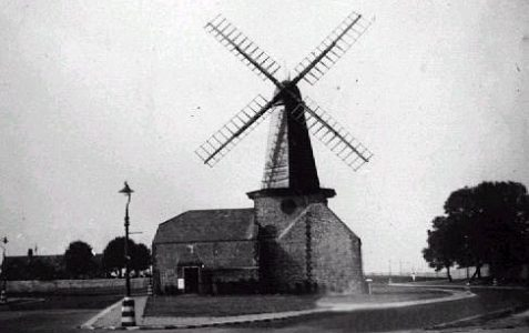 Photo of the mill c1945