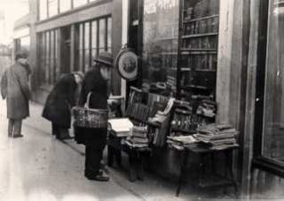 Photo of second-hand bookshop in Brighton | Image reproduced with permission from Brighton History Centre