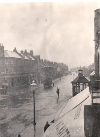 Photo of Boundary Road, 1924 | Image reproduced with permission from Brighton History Centre