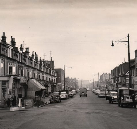 Photo of Boundary Road, 1959 | Image reproduced with permission from Brighton History Centre