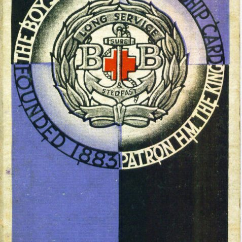 Boys Brigade 1933-1934 | From the private collection of Maralyn Eden