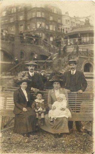 My family at Brighton 1909
