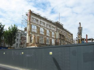Co-operative Society building works in progress | Photo by Paul Clarkson