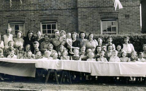 VE Party 1945 Pankhurst Avenue