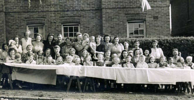 VE Day Street Party Pankhurst Ave | From the personal collection of Patsy Graham