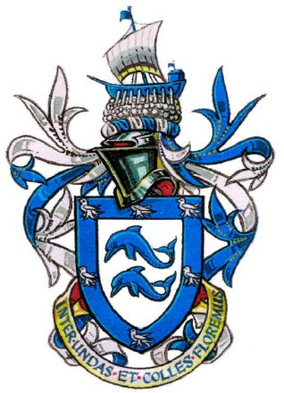 Arms and motto of the city of Brighton and Hove | Reproduced with permission of The Mayor, Councillor David Smith
