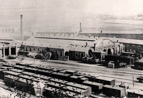Brighton locomotive works | Image reproduced with permission from Brighton History Centre
