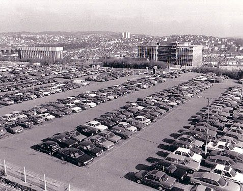 Brighton Station car park | Image produced with permission from Brighton Local Studies library