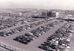 Brighton Station Car park | Image reproduced with permission from Brighton History Centre
