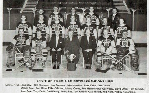 Brighton Tigers 1958/59 season
