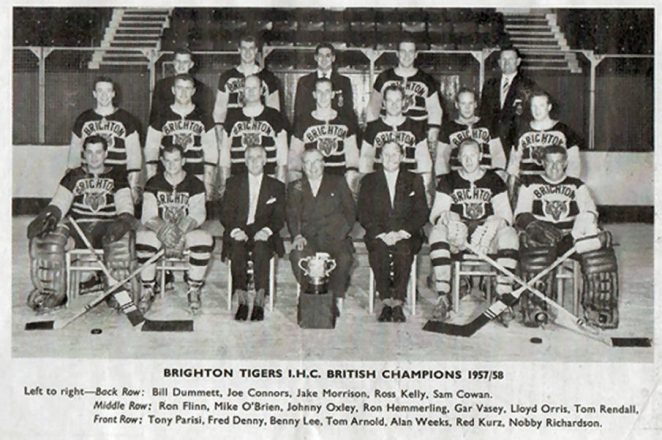 Brighton Tigers 1957/58 season | From the private collection of Christopher Wrapson