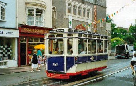 The experimental mini tram