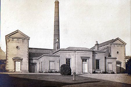 Photo of the pumping station