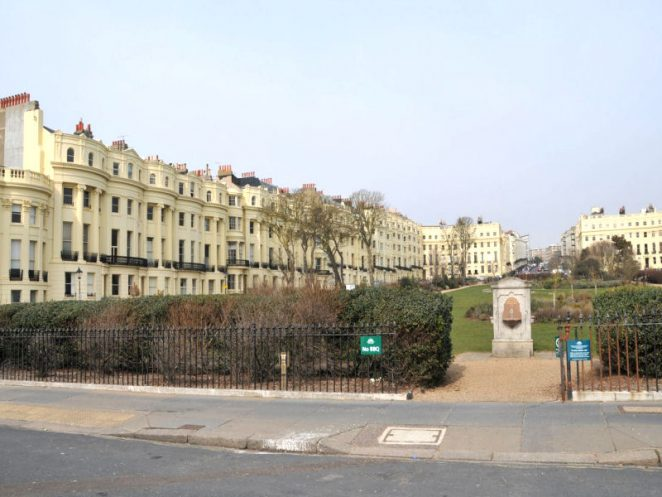 Brunswick Square, viewed from the seafront | Photo by Tony Mould