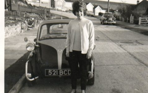 Sixties chick and a 'Bubble'