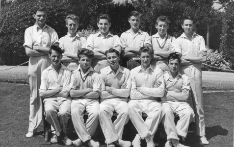 Cricket team - c1954