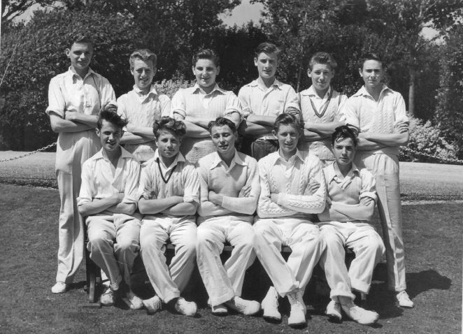 Cricket team c1954 | From the private collection of John Wallace