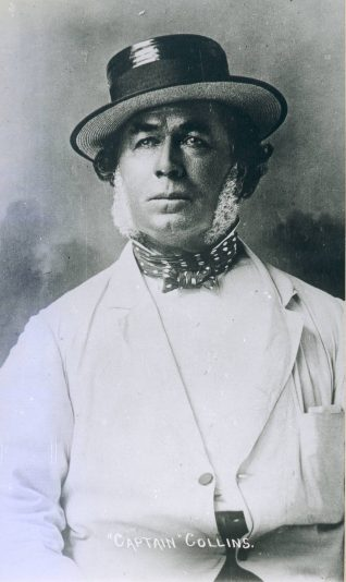 Captain Fred Collins | From the private collection of Robert Ettridge